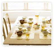 笑顔溢れる食卓