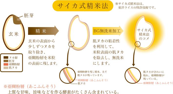 サイカ式精米法